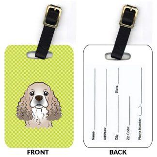 Cocker Spaniel Luggage Tags III (Set of 2)
