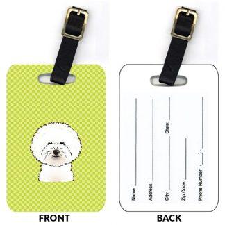 Bichon Frise Luggage Tags (Set of 2)