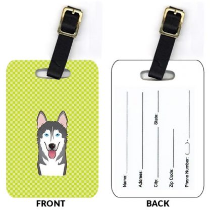 Alaskan Malamute Luggage Tags (Set of 2)