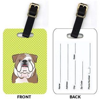 Bulldog Luggage Tags (Set of 2)