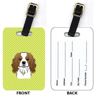 Cavalier Spaniel Luggage Tags (Set of 2)