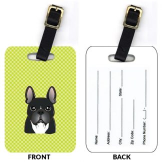 French Bulldog Luggage Tags (Set of 2)