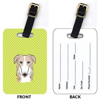Borzoi Luggage Tags (Set of 2)