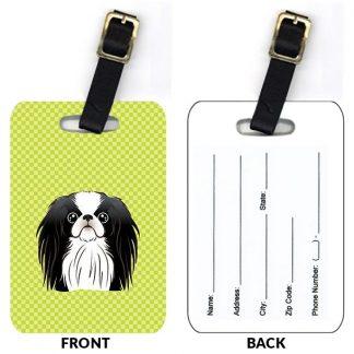 Japanese Chin Luggage Tags II (Set of 2)