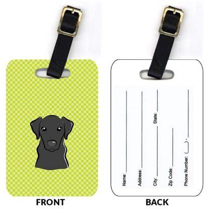 Black Lab Luggage Tags IV (Set of 2)