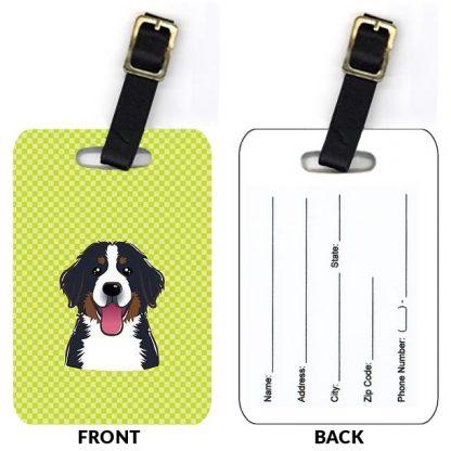 Bernese Mountain Dog Luggage Tags (Set of 2)