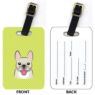 French Bulldog Luggage Tags II (Set of 2)
