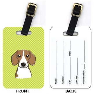 Beagle Luggage Tags (Set of 2)