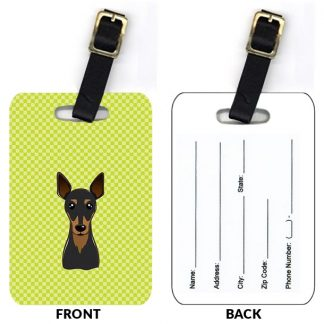 Miniature Pinscher Luggage Tags II (Set of 2)