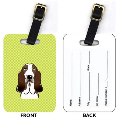Basset Hound Luggage Tags II (Set of 2)