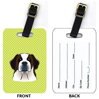Saint Bernard Luggage Tags II (Set of 2)