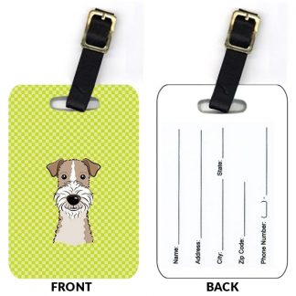 Wire Fox Terrier Luggage Tags II (Set of 2)