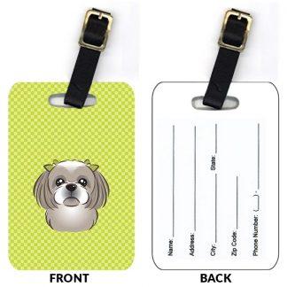 Shih Tzu Luggage Tags (Set of 2)