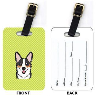 Corgi Luggage Tags III (Set of 2)