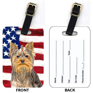 Yorkshire Terrier Luggage Tags II (Set of 2)