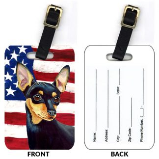 Miniature Pinscher Luggage Tags III (Set of 2)
