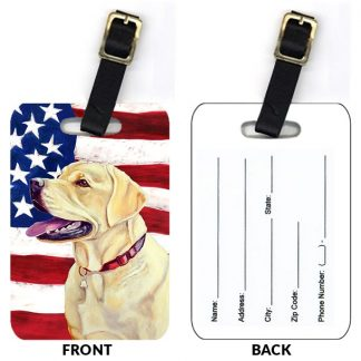 Yellow Lab Luggage Tags II (Set of 2)