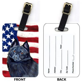 Schipperke Luggage Tags II (Set of 2)