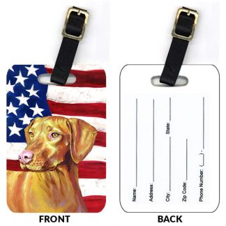 Vizsla Luggage Tags II (Set of 2)