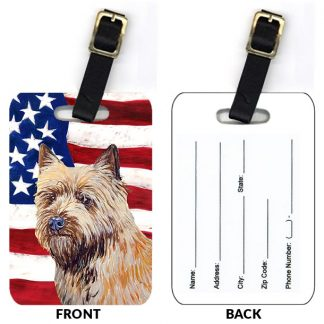 Cairn Terrier Luggage Tags (Set of 2)