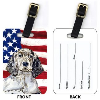 English Setter Luggage Tags II (Set of 2)