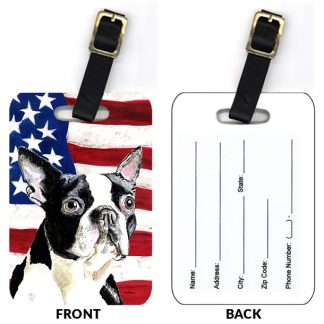 Boston Terrier Luggage Tags IV (Set of 2)