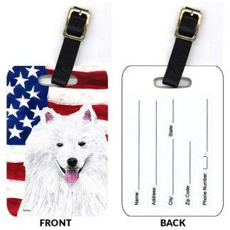 American Eskimo Luggage Tags (Set of 2)