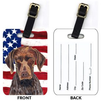 German Shorthair Pointer Luggage Tags (Set of 2)