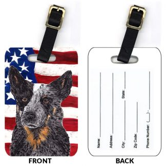 Australian Cattle Dog Luggage Tags II (Set of 2)