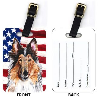 Collie Luggage Tags (Set of 2)