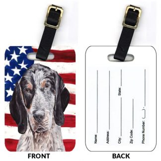 Bluetick Coonhound Luggage Tags II (Set of 2)