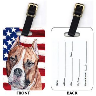 Staffordshire Terrier Luggage Tags (Set of 2)