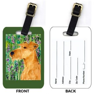 Irish Terrier Luggage Tags II (Set of 2)