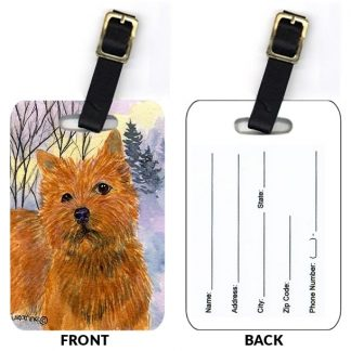 Norwich Terrier Luggage Tags (Set of 2)