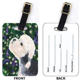 Dandie Dinmont Luggage Tags (Set of 2)