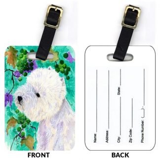 West Highland Terrier Luggage Tags II (Set of 2)