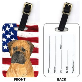 Bullmastiff Luggage Tags (Set of 2)