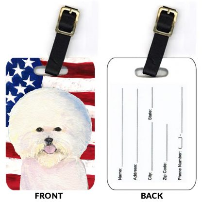 Bichon Frise Luggage Tags II (Set of 2)