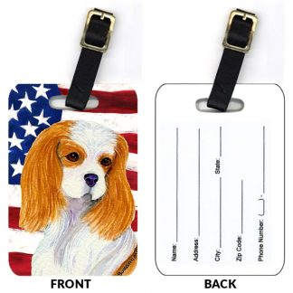 Cavalier Spaniel Luggage Tags IV (Set of 2)