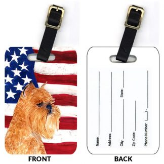 Brussels Griffon Luggage Tags III (Set of 2)