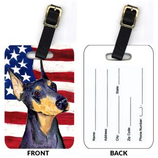 Doberman Pinscher Luggage Tags II (Set of 2)