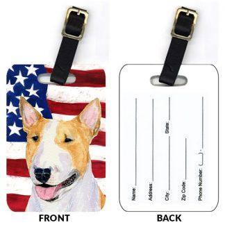 Bull Terrier Luggage Tags II (Set of 2)