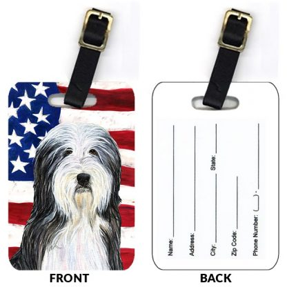 Bearded Collie Luggage Tags (Set of 2)