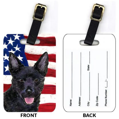 Australian Kelpie Luggage Tags (Set of 2)