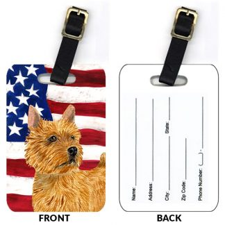Norwich Terrier Luggage Tags II (Set of 2)