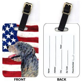 Irish Wolfhound Luggage Tags (Set of 2)