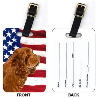 Sussex Spaniel Luggage Tags II (Set of 2)