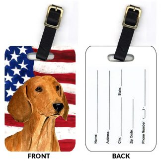 Dachshund Luggage Tags II (Set of 2)
