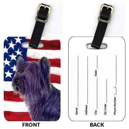 Skye Terrier Luggage Tags II (Set of 2)