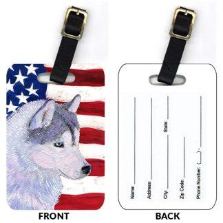 Siberian Husky Luggage Tags (Set of 2)
